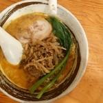 ごま麺 - 搾菜担々麺