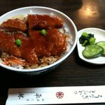 平林とんかつ店 - かつ丼(並)