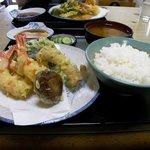 味千 - 料理写真:天ぷら定食
