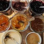 ブラッスリー・ヴィロン - 朝食のジャム類(2010年7月)