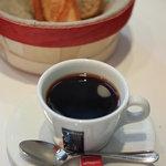 ブラッスリー・ヴィロン - 朝食のコーヒー(2010年7月)