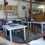 石州蟹番屋 - バーベキューコーナー