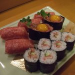 助八寿司 - 寄りました。