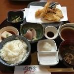 雅家 - 魚介天ぷら膳 1,580円