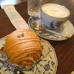 珈琲達磨堂 - かぼちゃケーキ