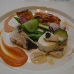ラ ヴォワール - 鮮魚の盛り合わせ