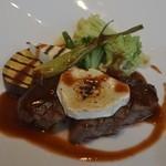 ラ ヴォワール - 黒毛和牛ランプ肉のグリエ