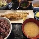 五鉢 - 鯖塩焼五鉢定食 ¥780