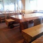 シーニック・カフェ 帽子岩 - 店内8