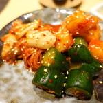 近江牛卸問屋 焼肉 激 - キムチ盛り合わせ