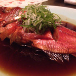 白雲荘 - 金目鯛煮付け