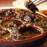 エスカルゴのオーブン焼ニンニクバター風味(パン付き)