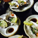 居酒屋 気腹志 - 生牡蠣