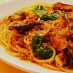 スパゲッティ 農民風ミートソース