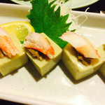 居酒屋 気腹志 - 蟹味噌豆腐