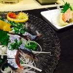 居酒屋 気腹志 - 秋刀魚刺