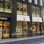 nu dish Deli & Cafe - 三原ビルの1階