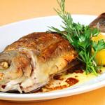 本日のお魚料理 (まるまる1尾)