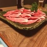 潜龍 - 不老鍋の肉