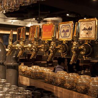 9種類の樽生ビール