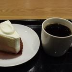 スターバックスコーヒー - ドリップSのコロンビア&プレーンシフォンケーキ