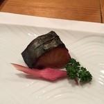 いろり 朱守 - 鰆の西京焼き