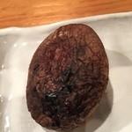 いろり 朱守 - 椎茸の炙り