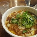 西安刀削麺酒楼 - 西安風サンラー麺!黒酢の酸味がGood♪