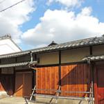 京都つゆしゃぶCHIRIRI - お玄関を出ると風情あるお向い @2pm