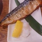 45873806 - 秋刀魚塩焼き380円+税
