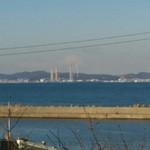 45874438 - 三浦半島と富士山