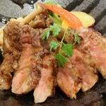 みけ家 - 淡路牛ロースステーキ丼