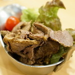 カレーレストラン シバ - 2015.12 コールマンラム(540円)