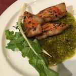 ファームイン - 本日の肴料理 金目鯛でした。欲をいえば 金目鯛はやっぱりシンプルがいいかなぁ。 でも、イタリアンだからしょうがないかぁ。