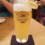 ニチニチ - 南国荘ビール(600円)
