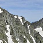 岳沢小屋 - 前穂山頂から奥穂高岳-白出のコル-涸沢岳
