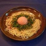 ビストロ 4匹の猫 - タラコのスパゲティ:塩味 780円