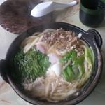 麦田食堂 - 料理写真:鍋焼きうどん530円