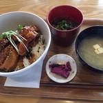 足柄の森レストラン - 豚角煮トロトロ丼セット