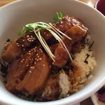 足柄の森レストラン - 豚角煮トロトロ丼