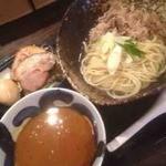 三ツ矢堂製麺 - 牛しゃぶ味噌カレーつけ麺+マル得盛り