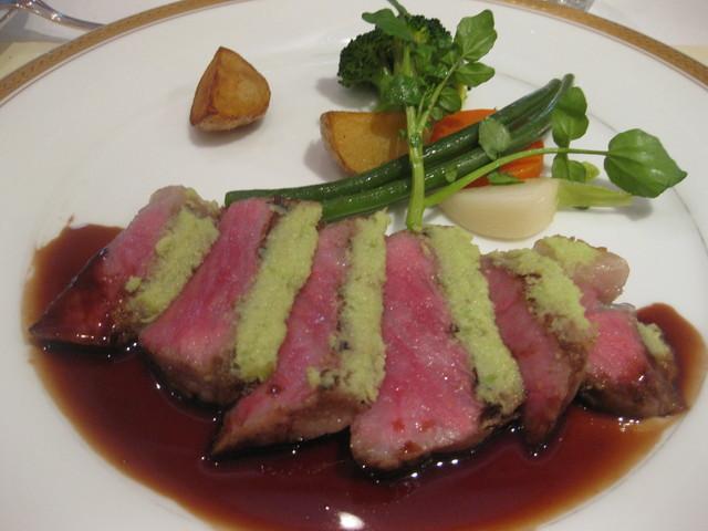 レストラン・フォレスト - 五島牛サーロインステーキ(2014.1訪問時)