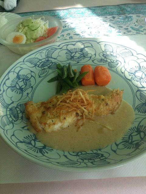 グルマンハウス ふじや - 日替わりランチ840円白身魚のピカタです