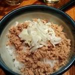 麺処 鳴神 - そぼろ丼
