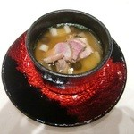レストラン ミッテ - スープ(茶わん蒸し)