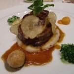 レストラン ミッテ - メインー牛フィレ肉のロッシーニ