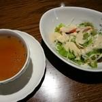 45887706 - セットサラダ&スープ