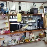 老稚園 - 店内の厨房側の様子です