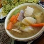 老稚園 - 茨城の名物「つけけんちん」♪ 具だくさんで新鮮で美味しい!