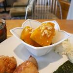 Onigily Cafe - 南瓜の煮つけ